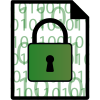 Data files can be encrypted and decrypted using our shell-protection wrapper